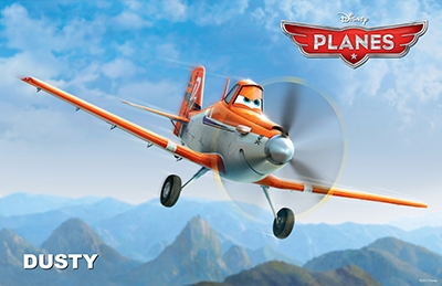Disney's Planes Soars into Theaters Today!