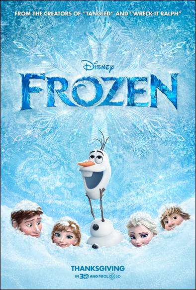 Disney's FROZEN: New Trailer Now Available