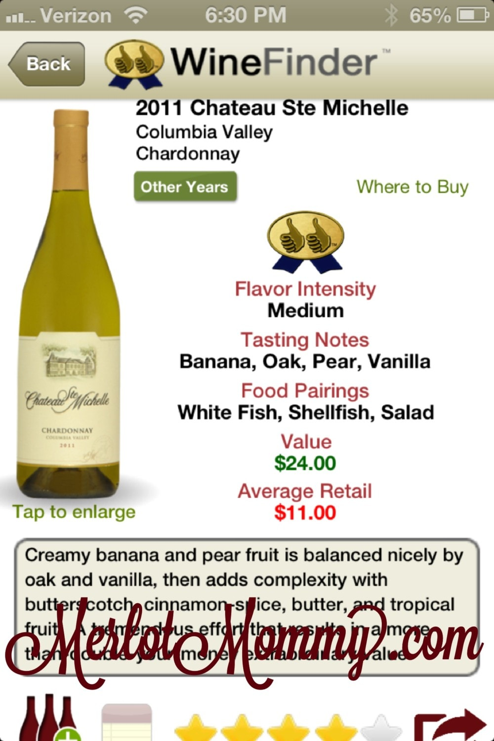 Thumbs Up WineFinder Review {Wine Wednesday}