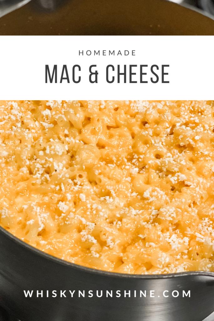 homemade mac and cheese
