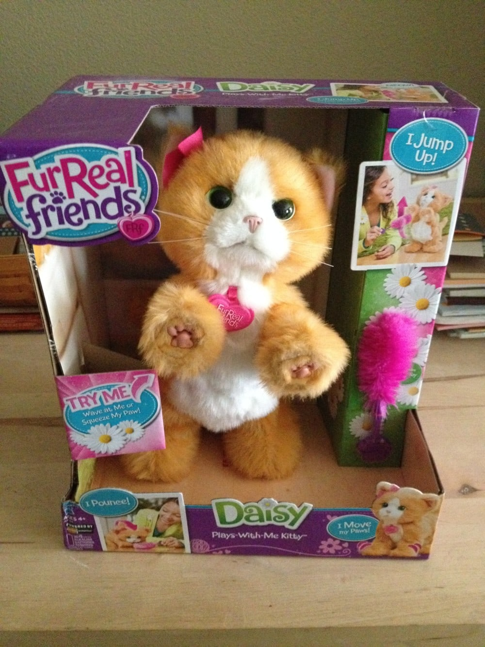 FurReal Friends Daisy Plays-With-Me Kitty Toy {Review} #HH2013