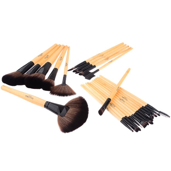 Ellore Femme 24-Piece Professional Makeup Brush Set {Review} #HH2013