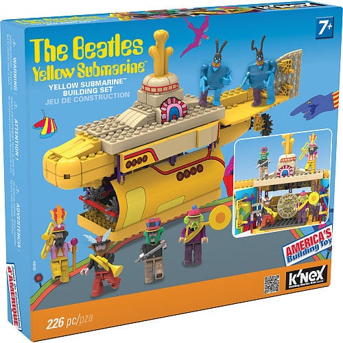 K'NEX Beatles Yellow Submarine™ Building Set {Review} #HH2013