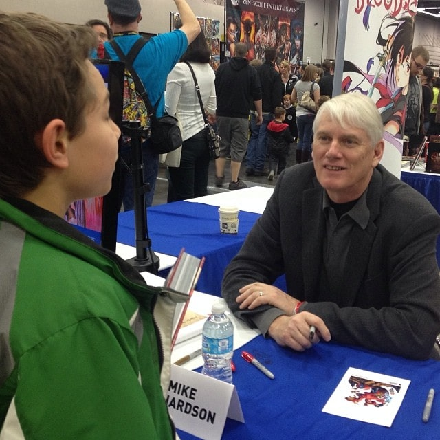 Mike Richardson Wizard World Comic Con