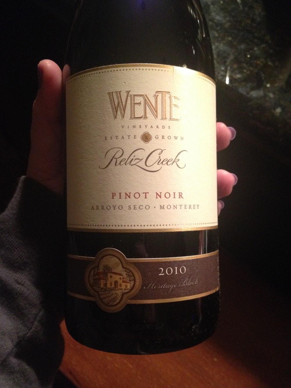 Wente Vineyards Pinot Noir