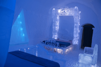 Disney Unveils Frozen Themed Suite at Quebec City's Ice Hotel