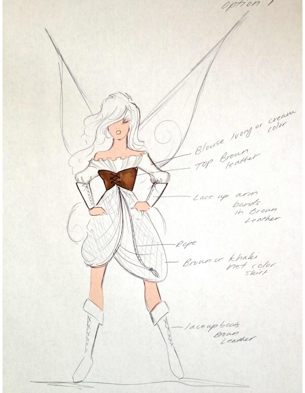 Disney's Pirate Fairy Gets Designer Treatment