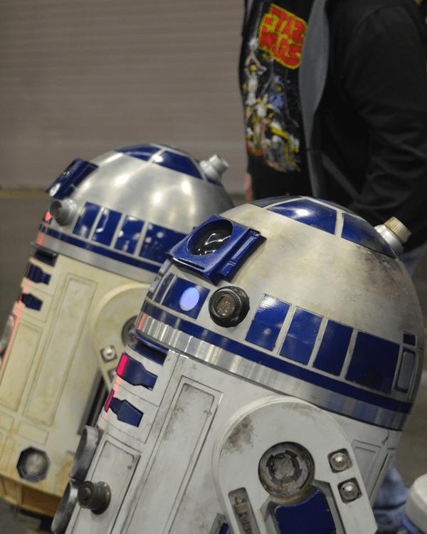 droids Wizard World Comic Con