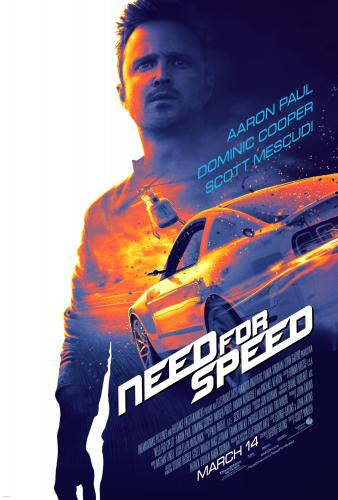 """DreamWorks Pictures' """"Need for Speed"""" on Blue-ray 8/5 #NFSMovie"""
