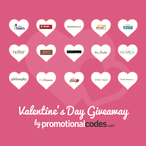 PromotionalCodes.com Valentine's Day Sweepstakes