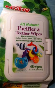 Nūby All Natural Pacifier & Teether Wipes Nuby Review
