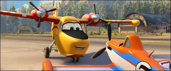 """PLANES: FIRE & RESCUE """"Courage"""" Trailer Now Available"""