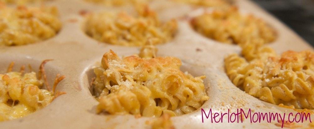 Kids in the Kitchen: Mini Macaroni and Cheese Cups