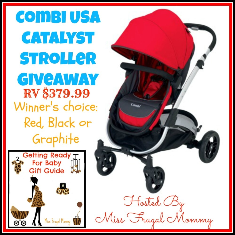 Win a Combi Catalyst Stroller #Giveaway