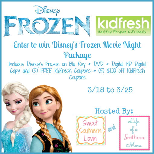 Enter to Win Disney's Frozen Movie Night Package #Giveaway
