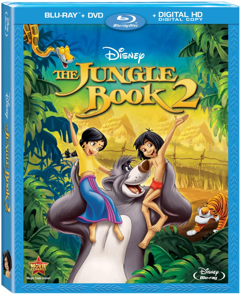 Disney's The Jungle Book 2 Available on Blu-Ray/DVD 3/18