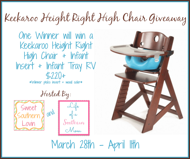 Keekaroo Height Right High Chair Giveaway Secret Word Page