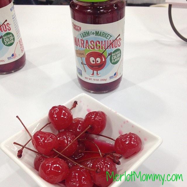 Maraschino Cherries from\ Cherry Man. These maraschino cherries are GMO-free certified!