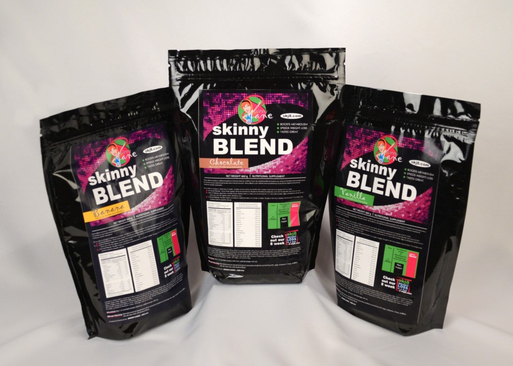 """Skinny Jane """"Skinny Blend Weight Loss Shake"""" Review and Giveaway"""