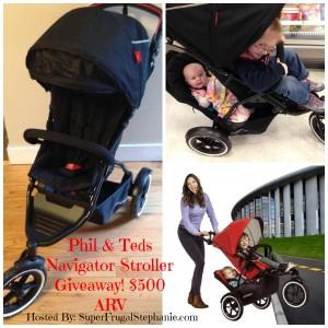 Enter to Win a Phil & Teds Navigator Stroller #giveaway