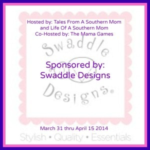 Win a 4 pack of Swaddle Designs Blankets #Giveaway