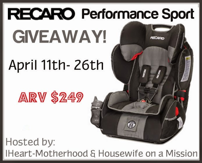 RECARO Performance Sport Car Seat Review and #Giveaway