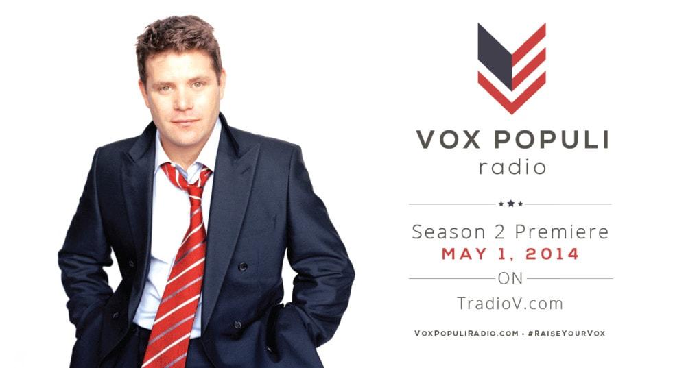 Sean Astin's Vox Populi Talk Radio Season 2 Launches 5/1 #RaiseYourVox