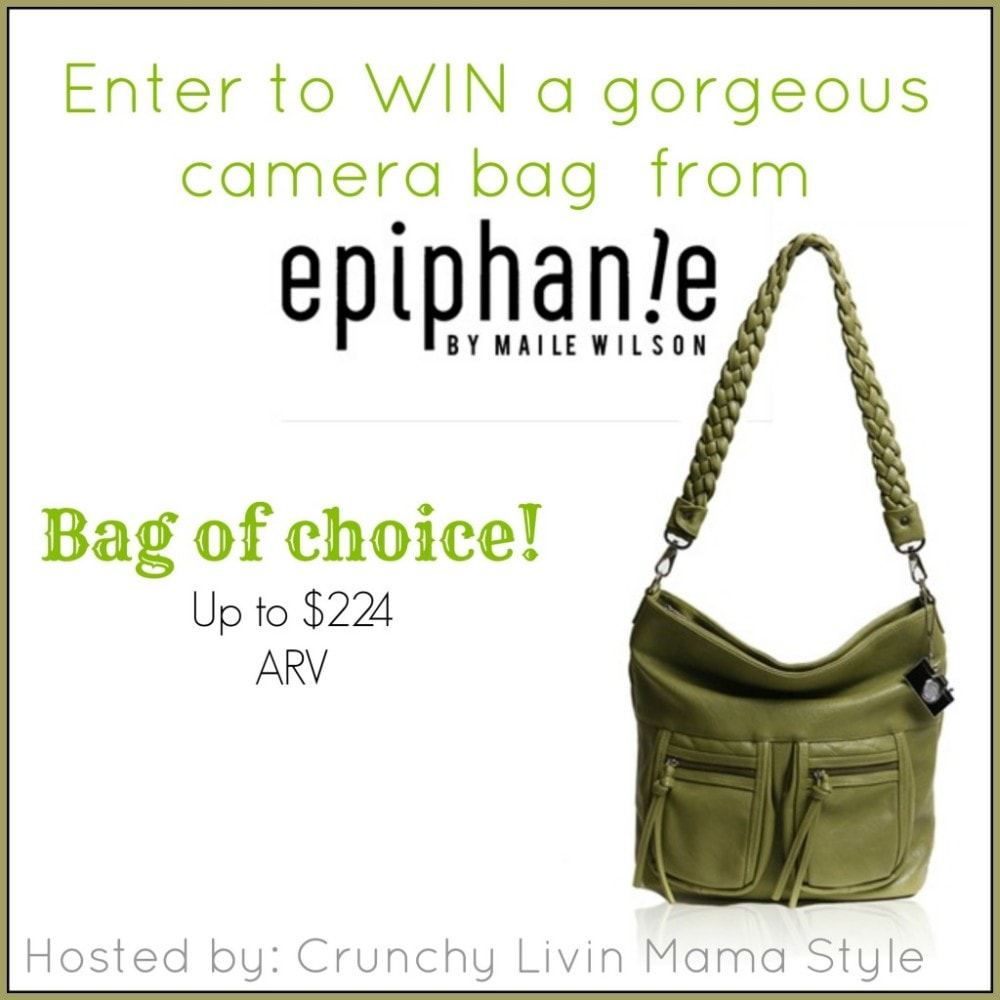 Epiphanie Camera Bag #Giveaway