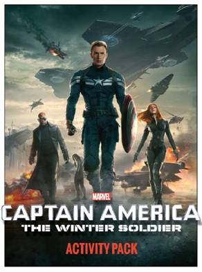 Free Activity Sheets: CAPTAIN AMERICA: THE WINTER SOLDIER