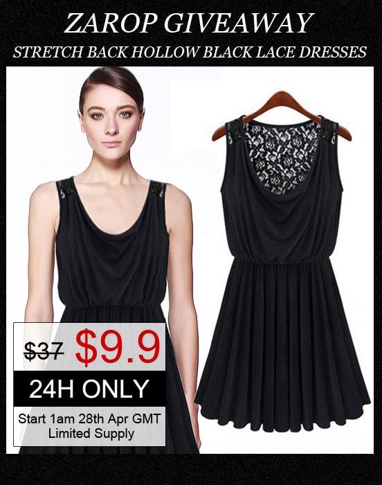 zarop little black dress