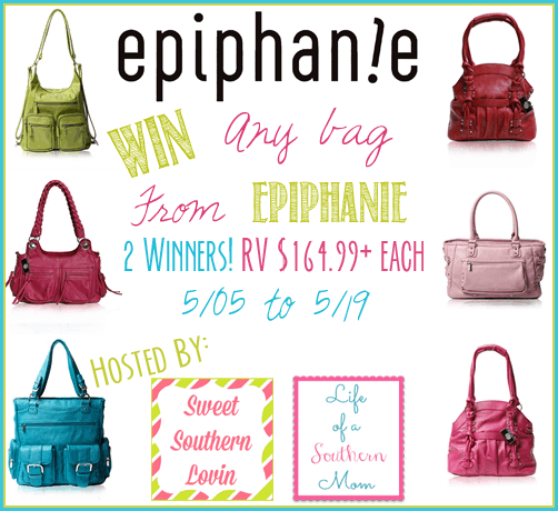 Epiphanie Bag #Giveaway ends 5/19