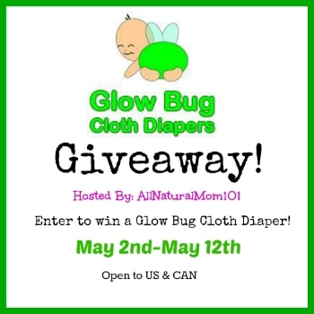 Glow Bug Cloth Diapers #Giveaway ends 5/12