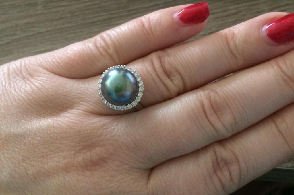 GemRoc Pearl Ring