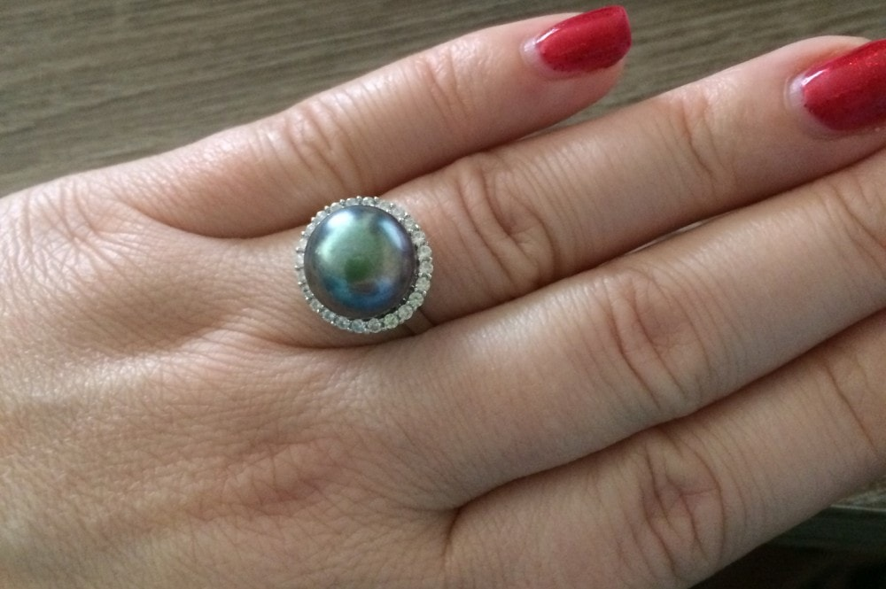 GemRoc Pearl Ring {Review} and #Giveaway ends 6/4