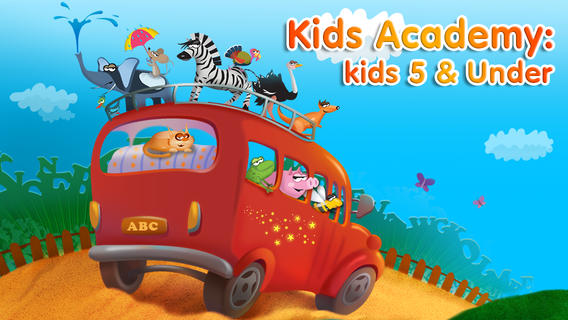 Kids Academy Preschool and Kindergarten Learning App {Review}