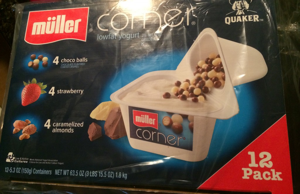 Müller Corner Yogurt Quaker