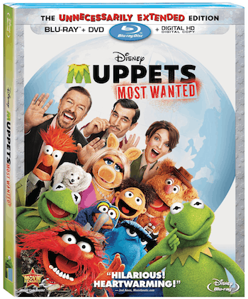 Muppets Most Wanted on Blu-ray 8/12