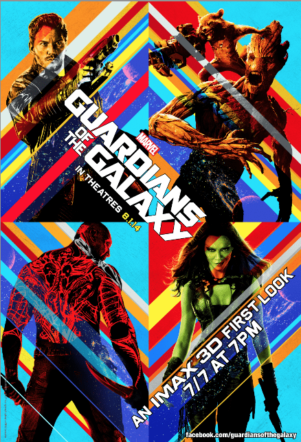 MARVEL AND IMAX GIVE FANS WORLDWIDE A FIRST LOOK AT #GUARDIANSOFTHEGALAXY + Free Poster