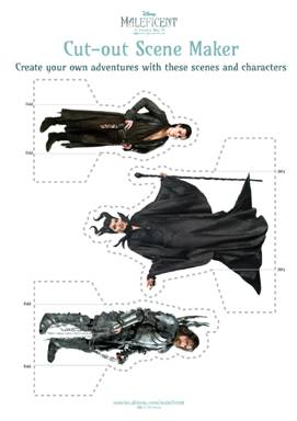 Disney's #Maleficent New Activity Sheets Available