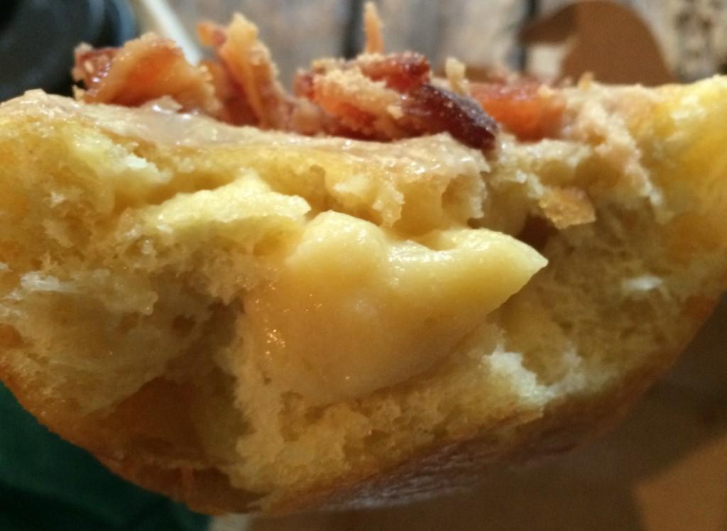 maple bacon donut portobello
