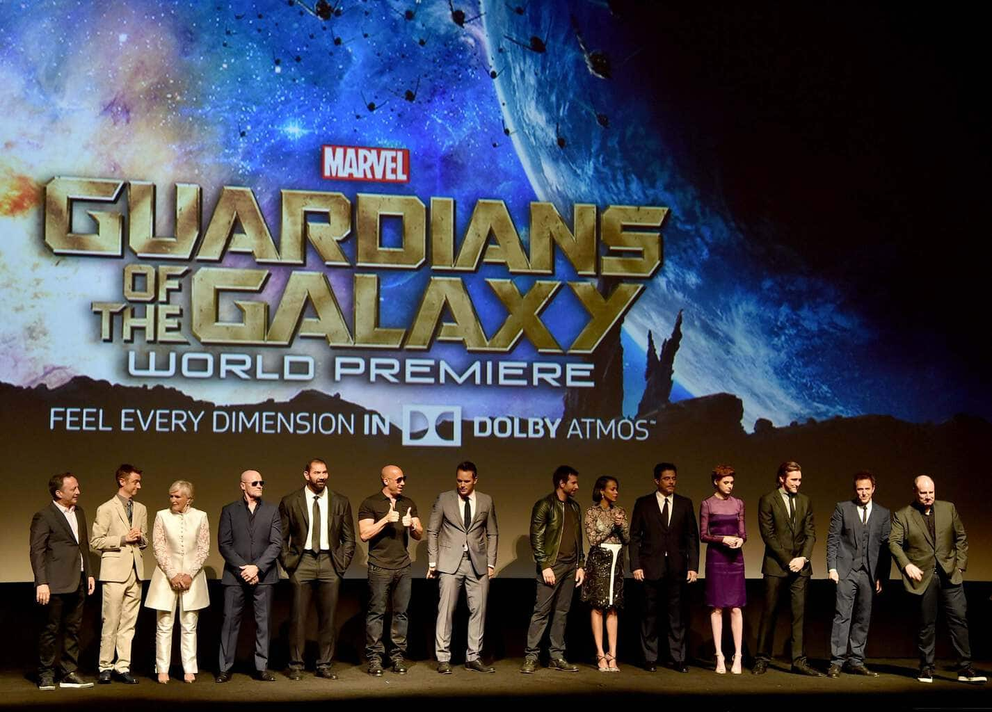 Red Carpet Premiere Images from Marvel's GUARDIANS OF THE GALAXY #GuardiansOfTheGalaxyEvent