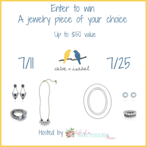 Enter to win the Chloe + Isabel Jewelry #Giveaway ends 7/25