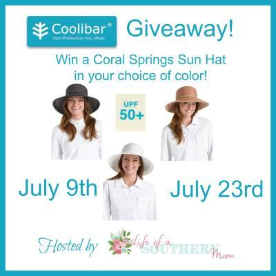 Enter the Coolibar Sun Hat #Giveaway ends 7/23