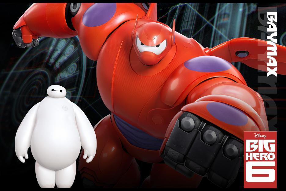Disney Animation Studios' Unleashes BIG HERO 6 Lineup #BigHero6