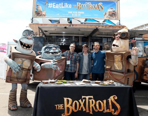 Boxtrolls at Comic Con