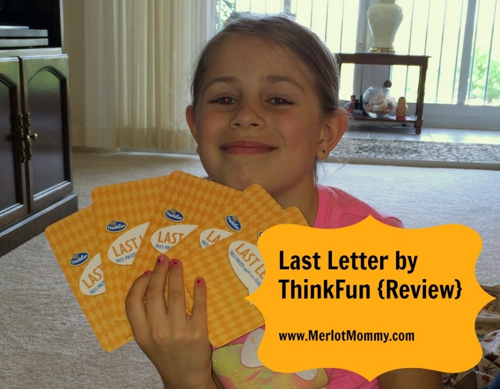 Last Letter by ThinkFun is a Great Game for All Ages {Review}