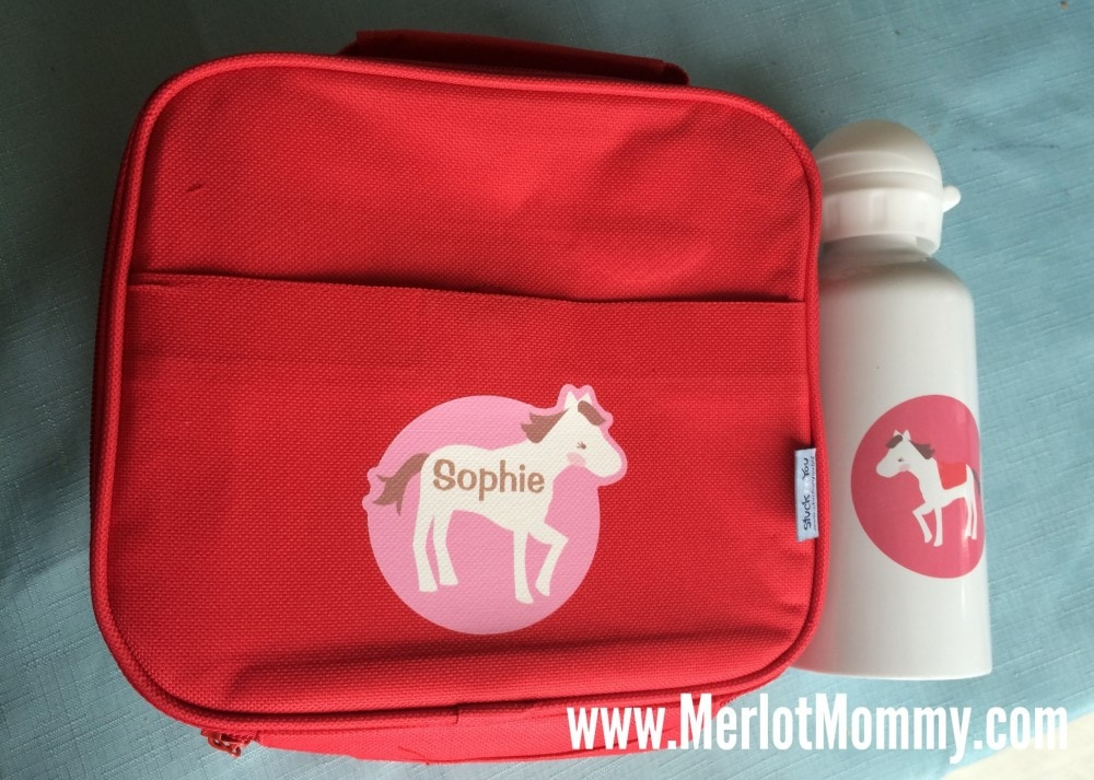 Personalized Lunchbox and Water Bottle for Camp and Back to School