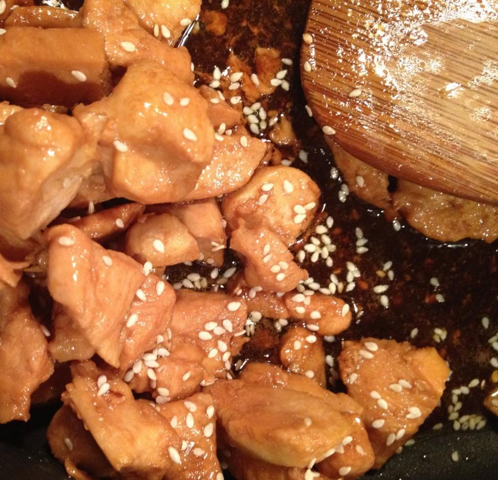 low fat sesame chicken recipe