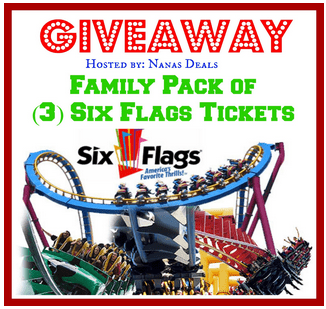SIX FLAGS TICKET #GIVEAWAY ends 8/4