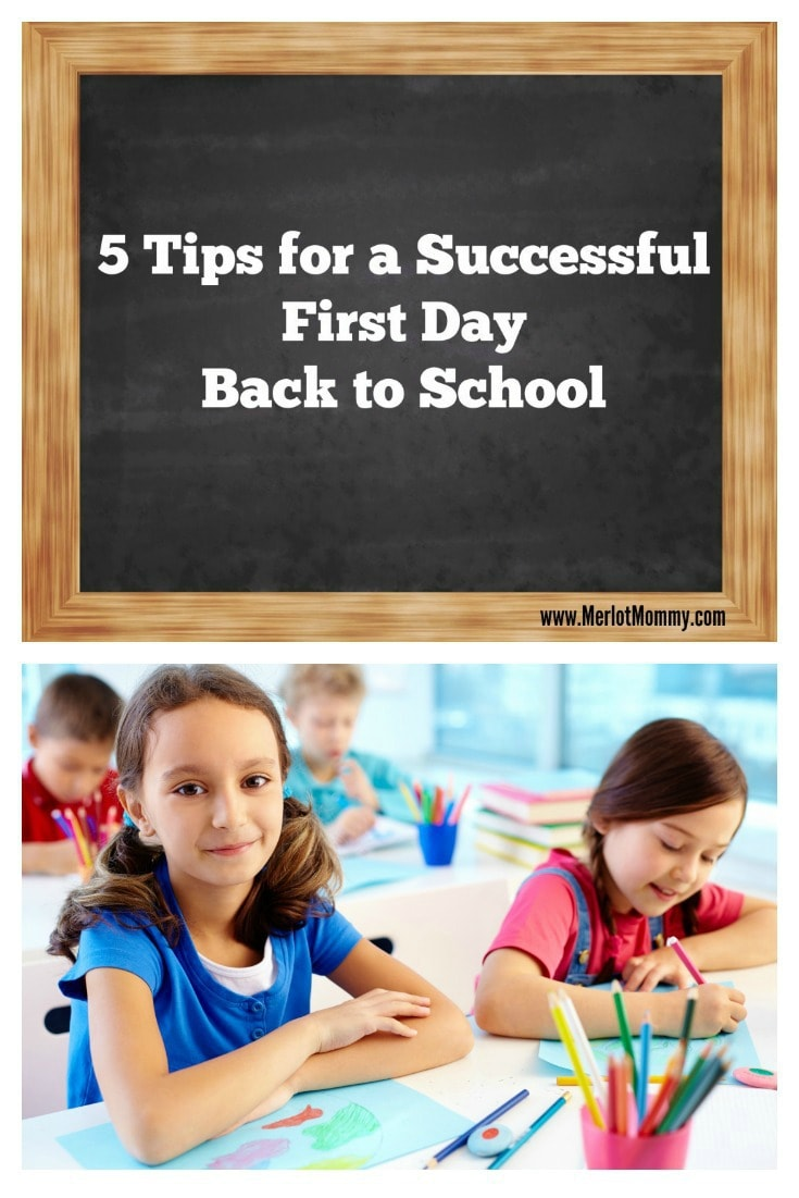 5 Tips for a Successful First Day Back to School #BTS #BackToSchool